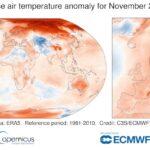 L'autunno più caldo da 40 anni? Merito di un novembre da record!